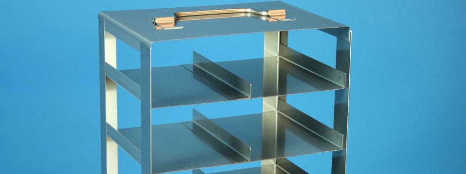 Online Shop / Bestellsystem, Karton Kryoboxen, EPPI® Kryoboxen, Kryo-Truhengestelle, Kryo-Schrankgestelle, Kryo-Schrankeinschübe