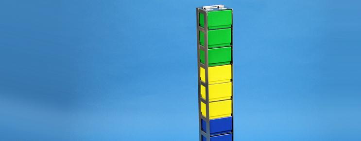 NANU Racks vertical Box 58 mm high