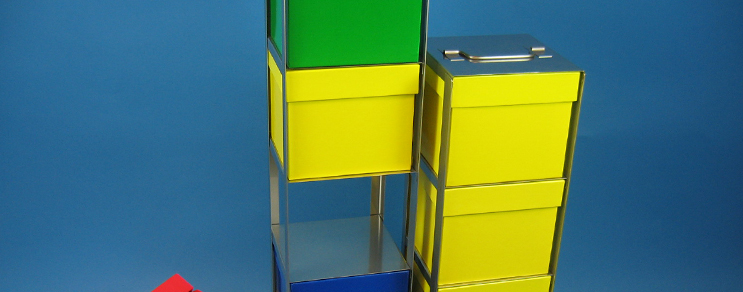 Racks vertical Box 103 mm high
