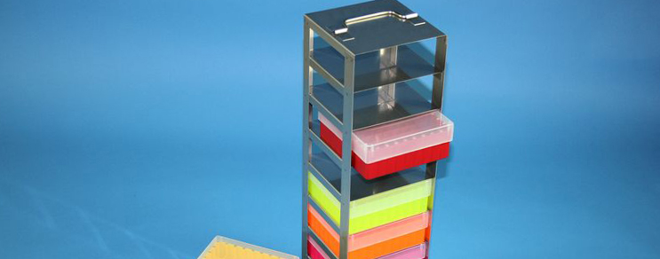 Racks vertical Box 53 mm high