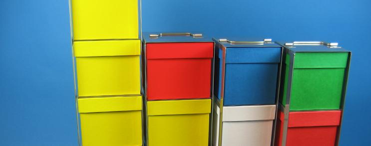 Racks vertical Box 78 mm high