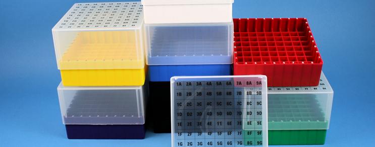 EPPI® PP cryoboxes alphanumerisch codiert ABC....