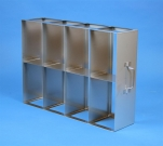 EPPI® cabinet racks width 139 mm with intermediate bottom