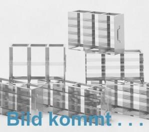MT horizontal rack, with two intermediate shelves