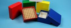 Cryo boxes 136x136x32 mm high