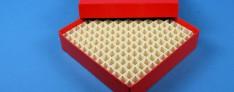 Alpha Boxes 136x136x32 mm +Grid