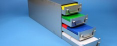 Alpha drawers racks 145 mm width closed