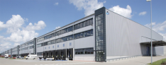 B2B logistics center Hamburg