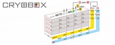Cryo Drawers Racks boxes until 76 mm high