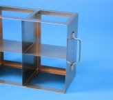 ALPHA 100 cryo cabinet rack 5x2 compartments for 10 Cryo boxes up to 136x136x103 mm folding handle, open frame
