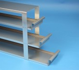 ALPHA drawer rack 110, for 15 boxes up to 136x136x113 mm