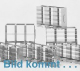 MT horizontal rack 39, for 16 MT-plates up to 86x128x39 mm