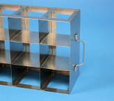 MT horizontal rack, with two intermediate shelves