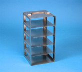 EPPi vertical rack 45 + 50, for 5 boxes up to 133x133x53 mm