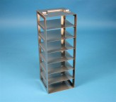 EPPi vertical rack 45 + 50, for 7 boxes up to 133x133x53 mm