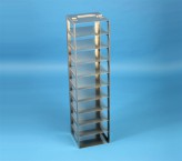 EPPi vertical rack 45 + 50, for 10 boxes up to 133x133x53 mm