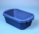 Thorbi insulated container / Without lid, content 4 litres blue