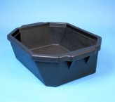 Thorbi insulated container / Without lid, content 9 litres black