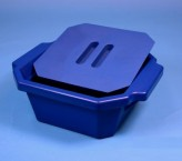 Thorbi insulated container / With lid, content 2,5 litres  blue